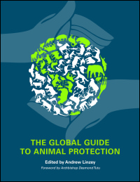 Cover for Dr Andrew Linzey: The Global Guide to Animal Protection.