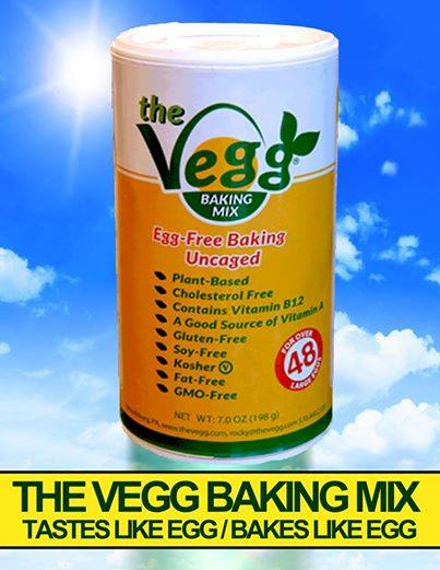 the vegg baking mix