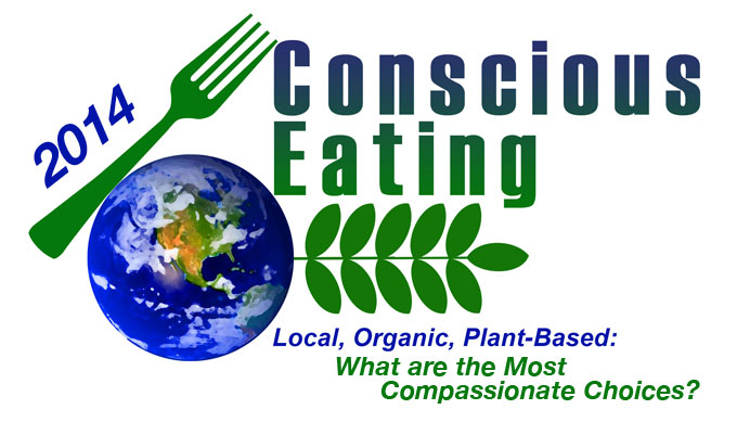 Conscious Eating:  Local, Organic, Plant-Based &#8211 What are the Most Compassionate Choices?