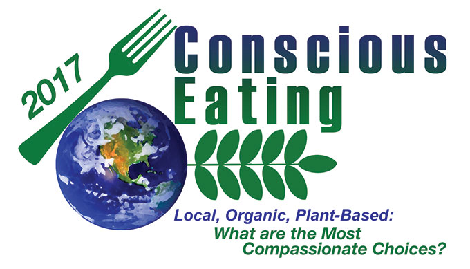 2017 Conscious Eating Conference poster