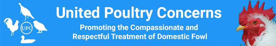 News Releases - United Poultry Concerns