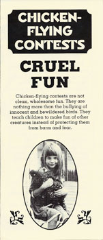 Chicken=Flying Contests: Cruel Fun