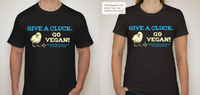 give a cluck go vegan models s