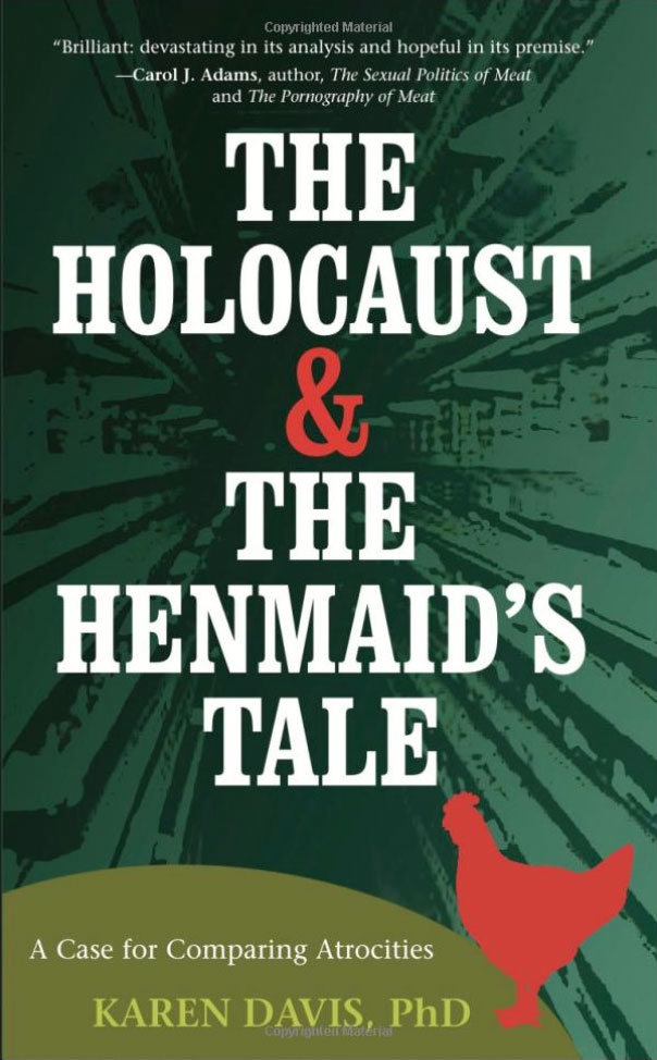 Book cover for: The Holocaust and the Henmaid's Tale