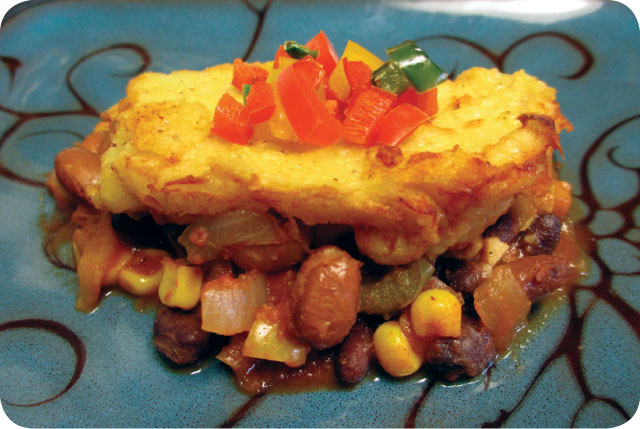 hot tamale pie plate
