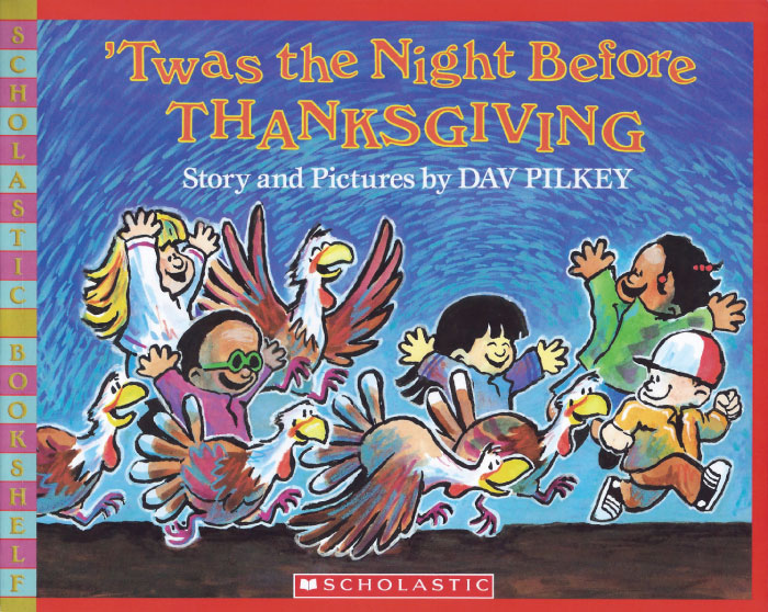 'Twas the Night Before Thanksgiving book cover