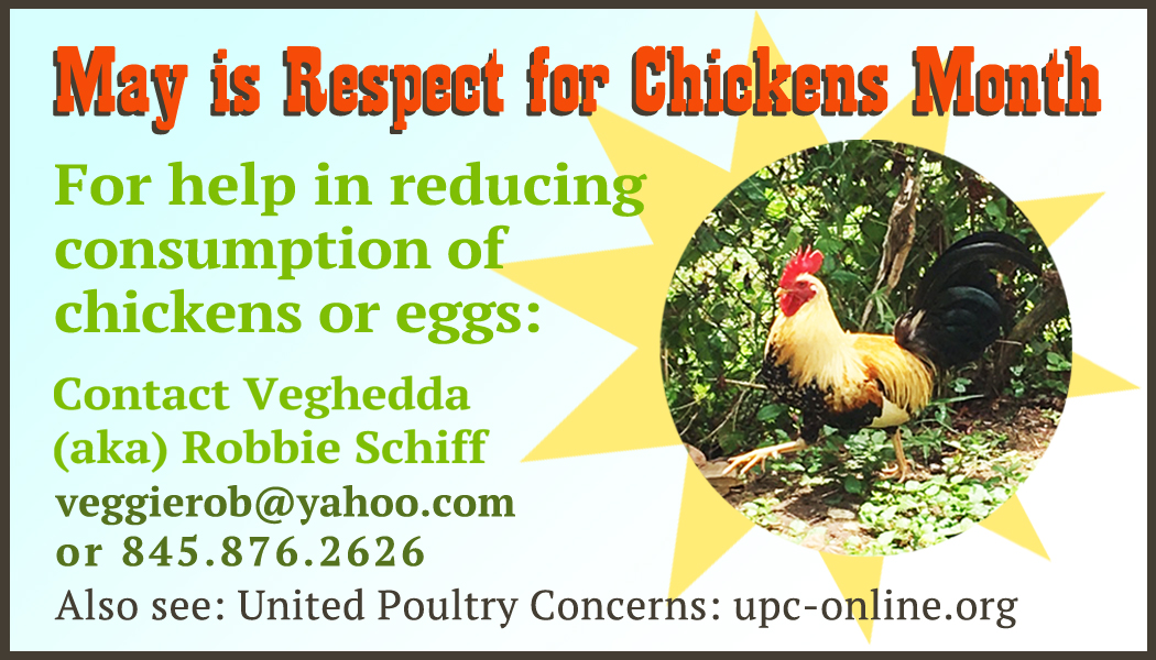 International Respect for Chickens Day - United Poultry Concerns
